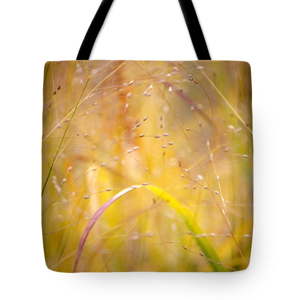 Golden Grass Tote Bag