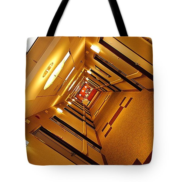 Golden Hall Tote Bag by Frozen in Time Fine Art Photography