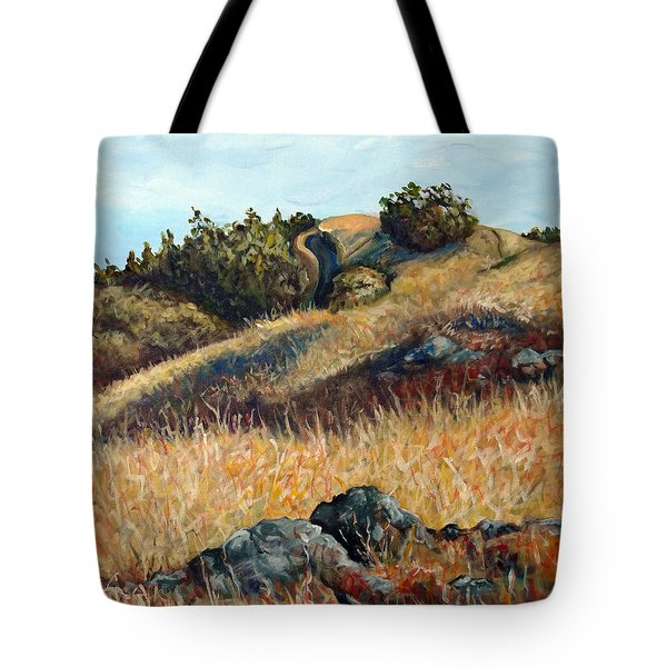 Golden Hills Tote Bag