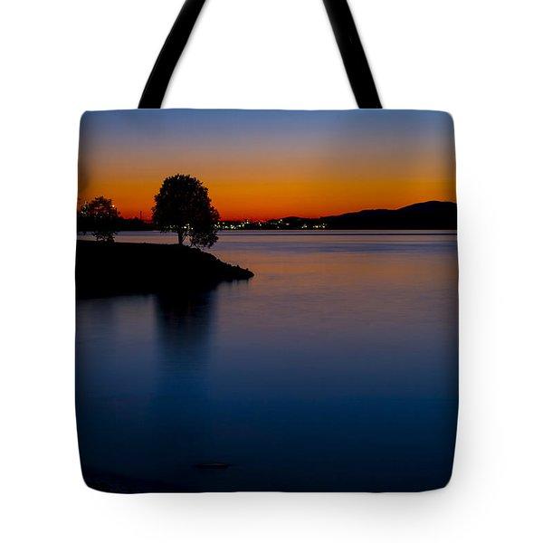 Golden Horizon Tote Bag