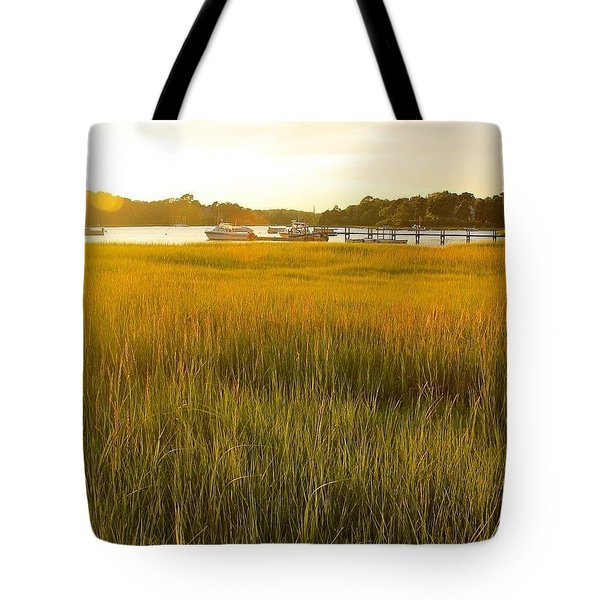 Golden Hour On Cape Cod Tote Bag