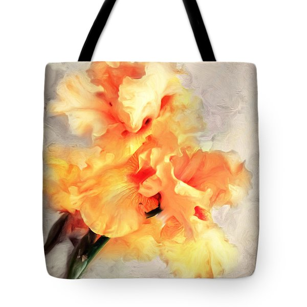 Golden Iris 1 Tote Bag
