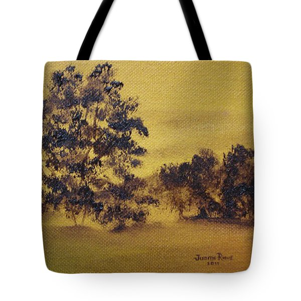 Golden Landscape Tote Bag