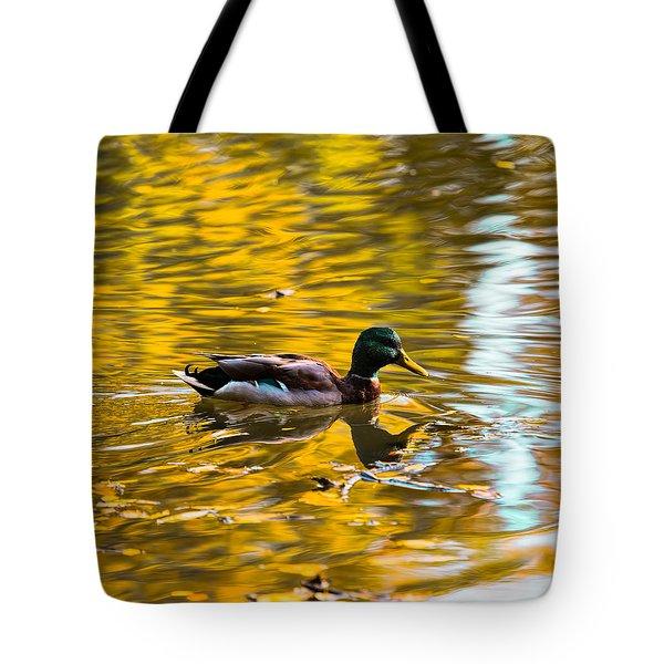 Golden   Leif Sohlman Tote Bag