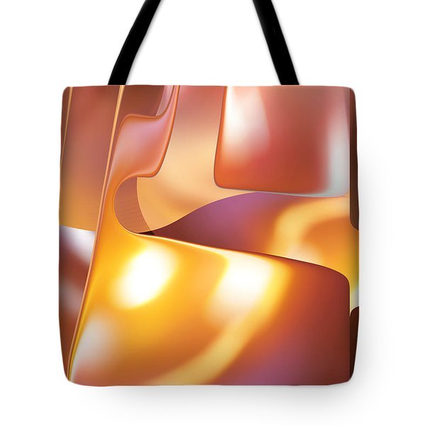 Golden Light Tote Bag by rd Erickson