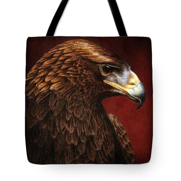 Golden Look Golden Eagle Tote Bag