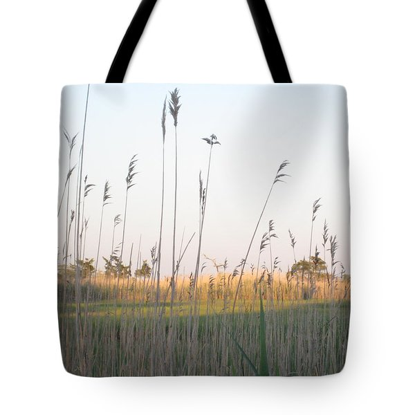 Golden Marshes Tote Bag