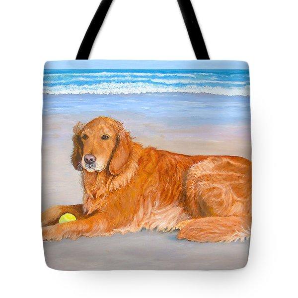 Golden Murphy Tote Bag