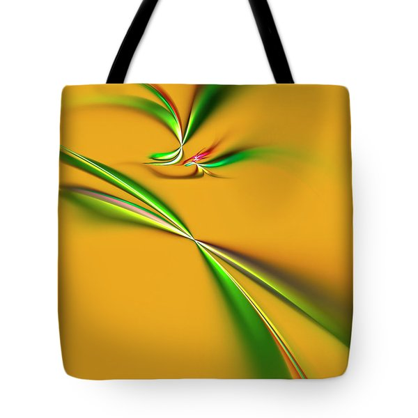Golden Mystic Tote Bag by Carolyn Marshall