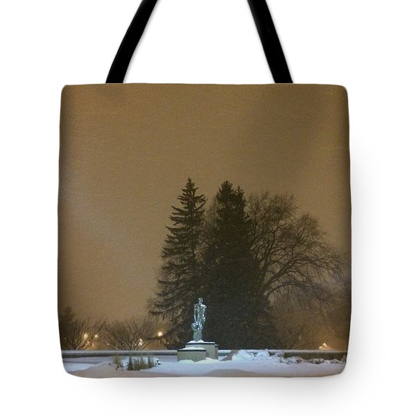 Golden Night Tote Bag by Joseph Yarbrough