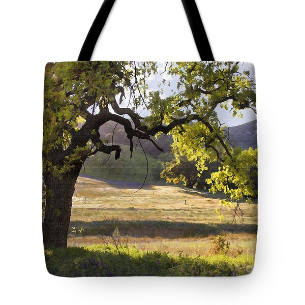 Golden Oaks Tote Bag by Sharon Foster