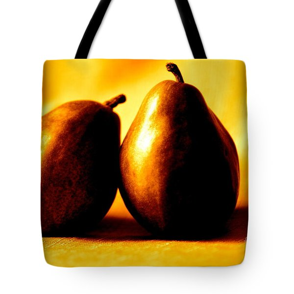 Golden Pair Tote Bag by Cathy Dee Janes