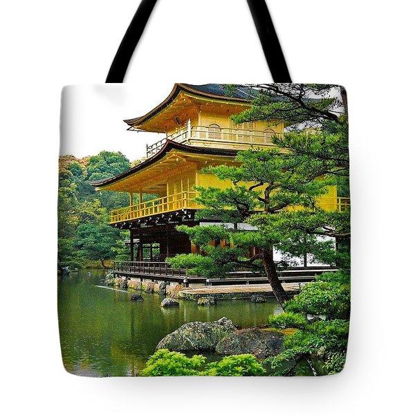 Golden Pavilion - Kyoto Tote Bag