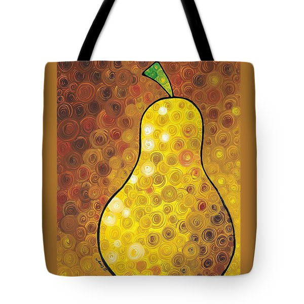 Golden Pear Tote Bag