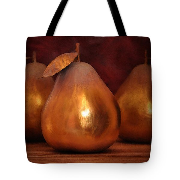 Golden Pears I Tote Bag