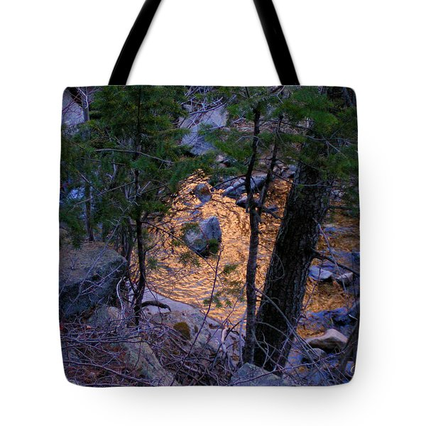 Golden Pond  Tote Bag