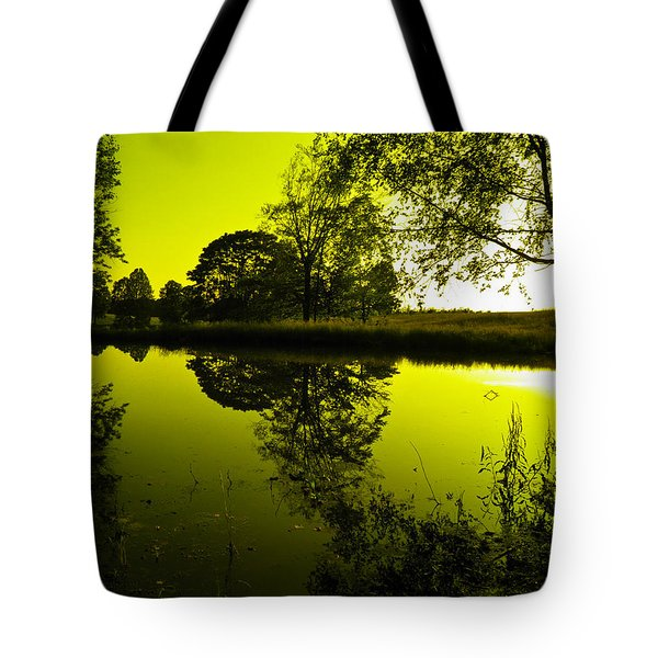 Golden Pond Tote Bag by Nick Kirby