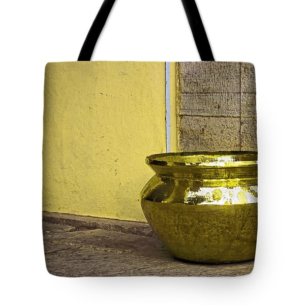 Golden Pot Tote Bag