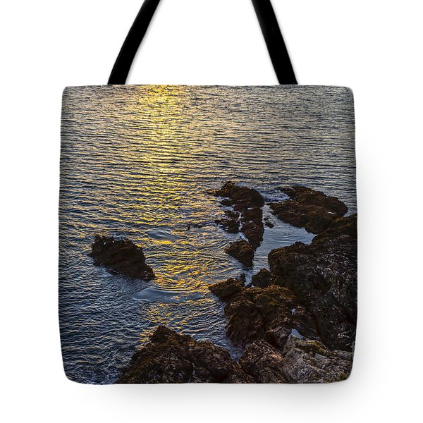 Golden Reflection Tote Bag by Brian Roscorla