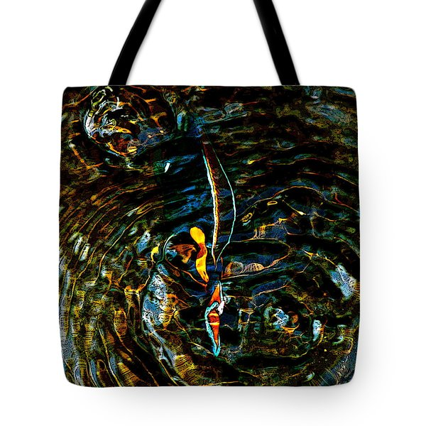 Golden Ripples Tote Bag by Lehua Pekelo-Stearns