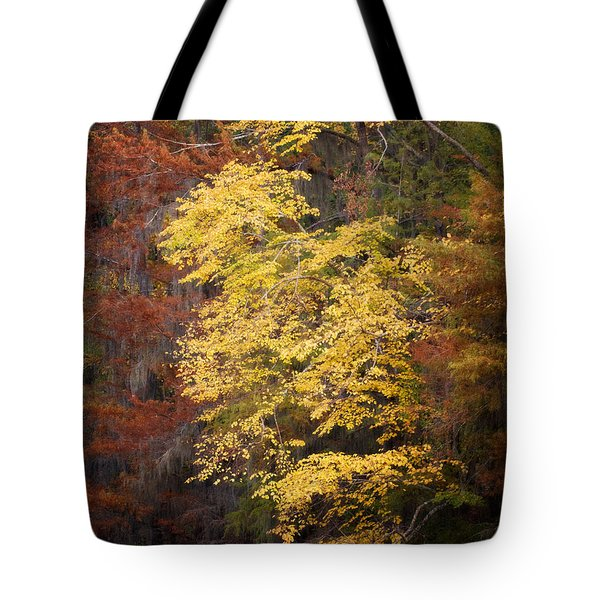 Tote Bag featuring the photograph Golden Rust by Lana Trussell