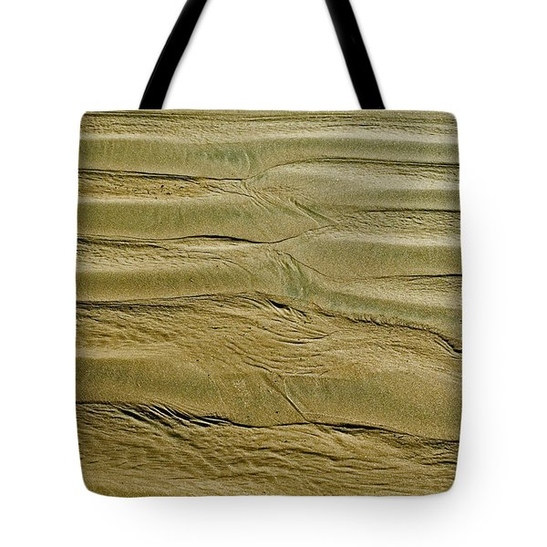 Tote Bag featuring the photograph Golden Sand 5 by Julis Simo