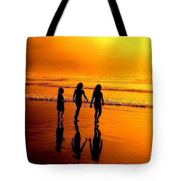 Golden Sands  Tote Bag by Micki Findlay