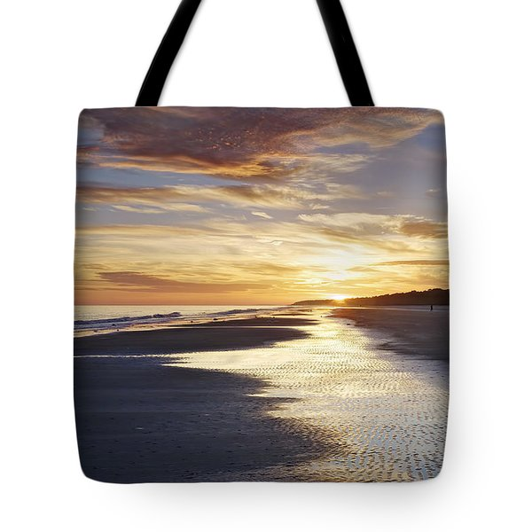 Golden Sands Tote Bag by Phill Doherty
