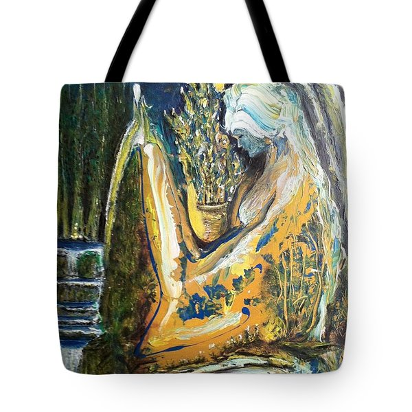 Golden Serenities Tote Bag