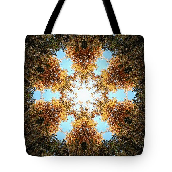 Golden Shimmer K2 Tote Bag