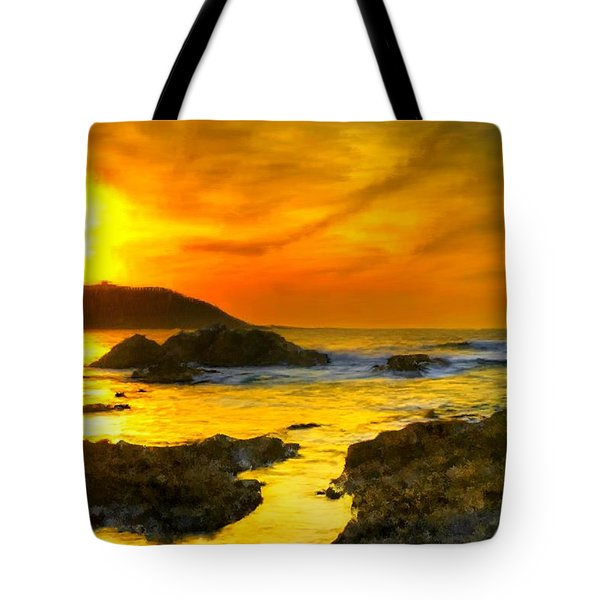 Golden Sky Tote Bag by Bruce Nutting