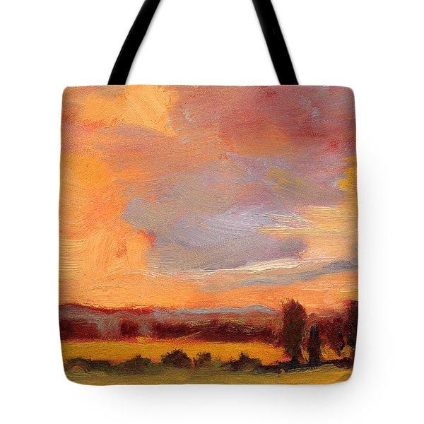 Golden Splendor Tote Bag