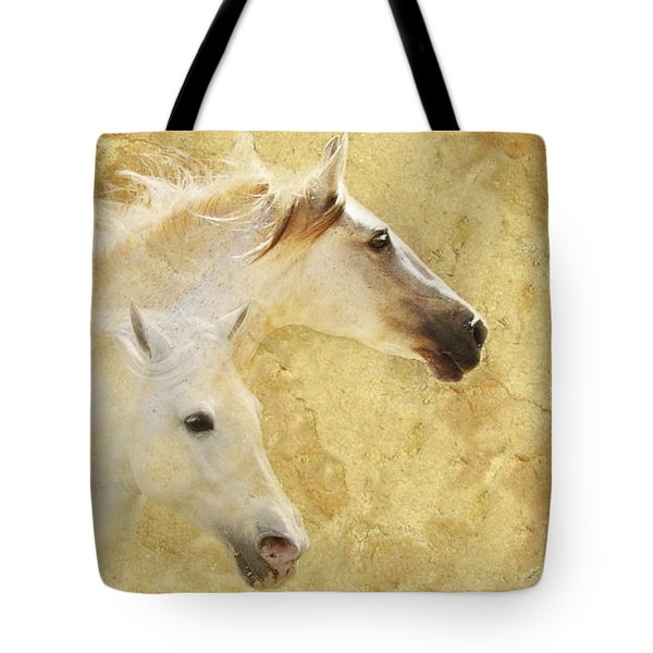 Golden Steeds Tote Bag