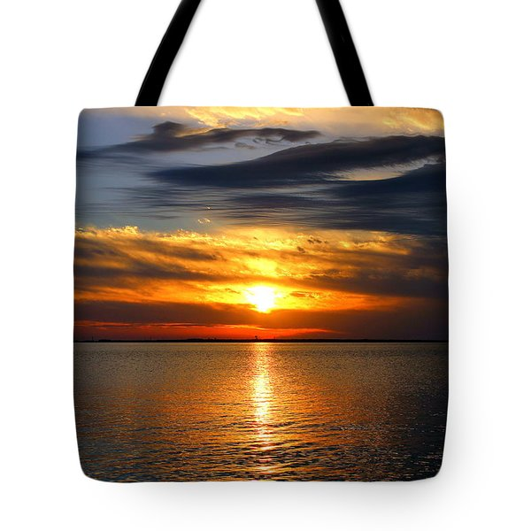 Golden Sun Tote Bag