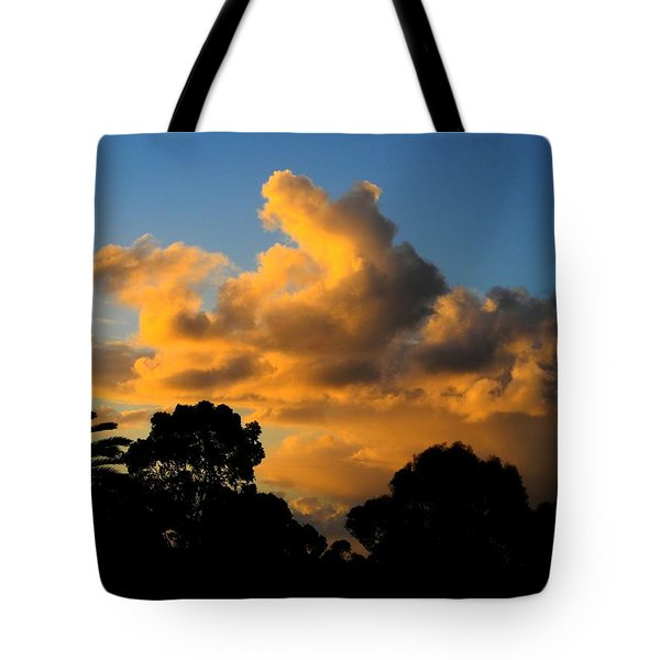 Golden Sunset Tote Bag by Mark Blauhoefer