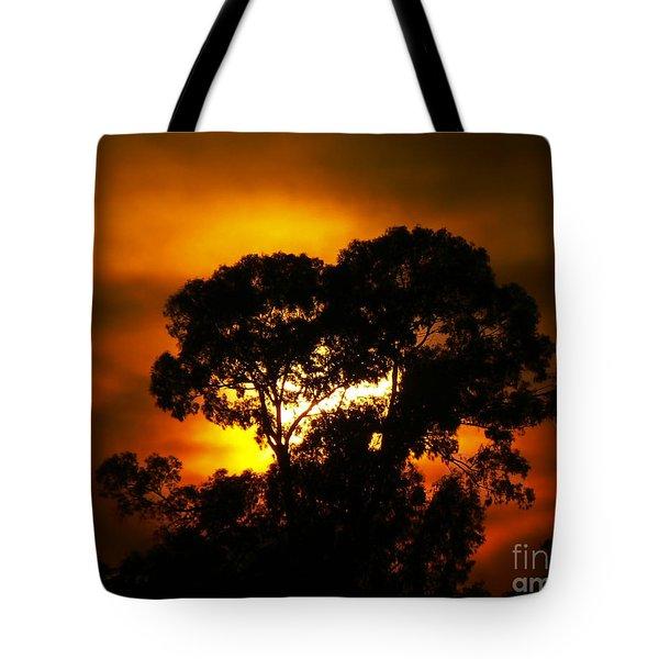 Golden Sunset... Tote Bag