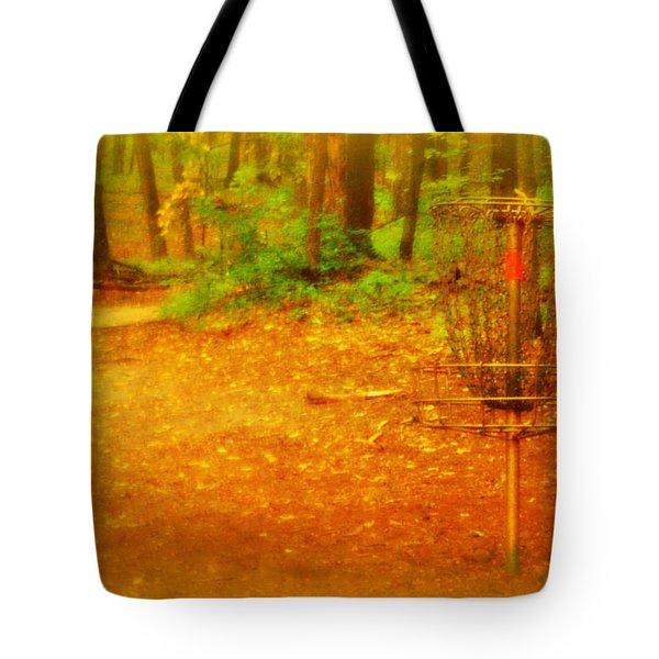 Golden Target Tote Bag