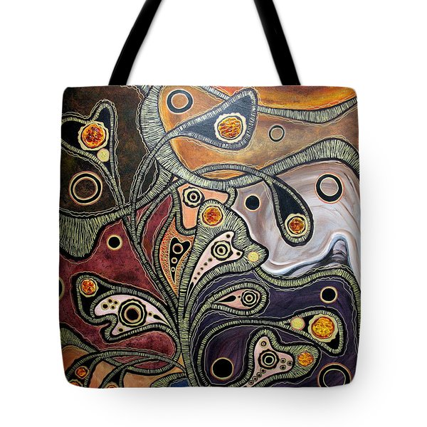Golden Thought Tote Bag