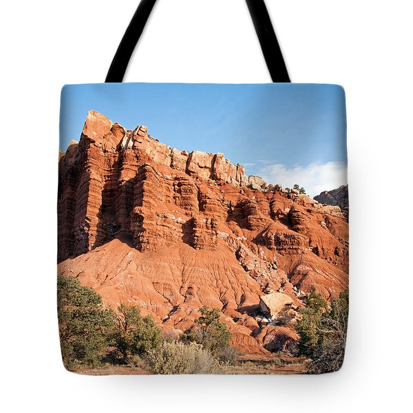 Golden Throne Capitol Reef National Park Tote Bag