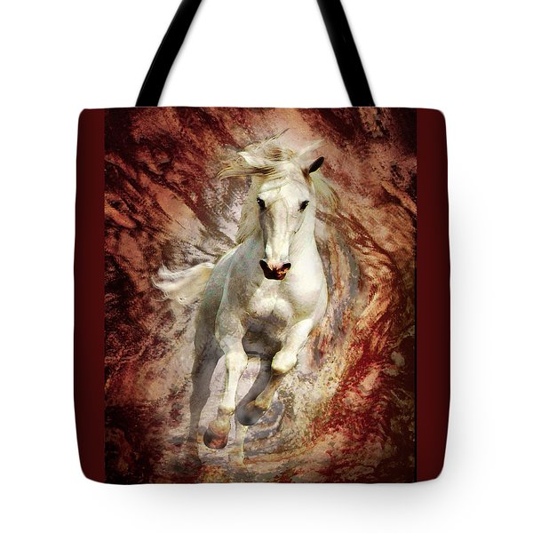 Golden Thunder Tote Bag