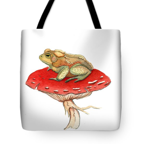 Golden Toad Tote Bag