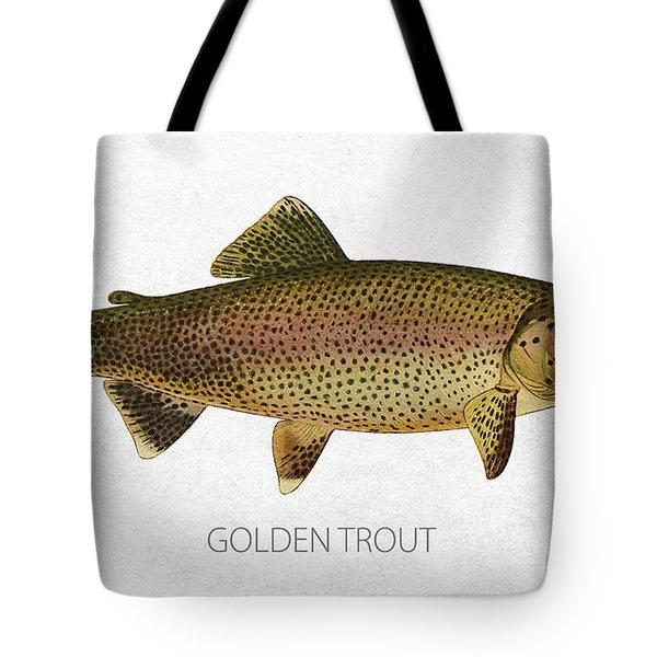 Golden Trout Tote Bag by Aged Pixel