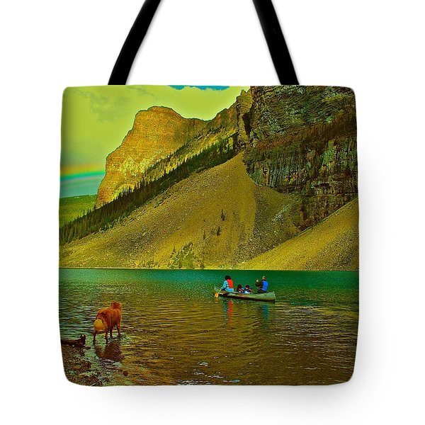 Golden Voyage Tote Bag