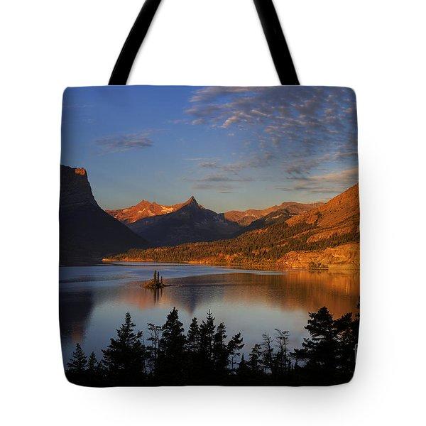 Golden Wild Goose Island Tote Bag