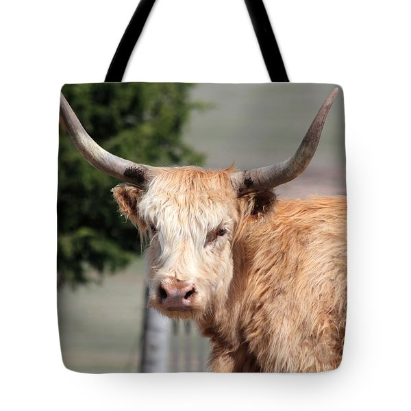 Golden Yak Tote Bag