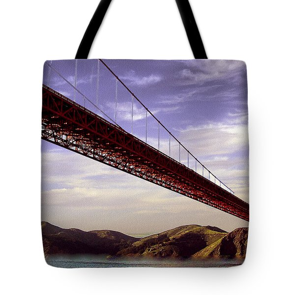 Goldengate Bridge San Francisco Tote Bag