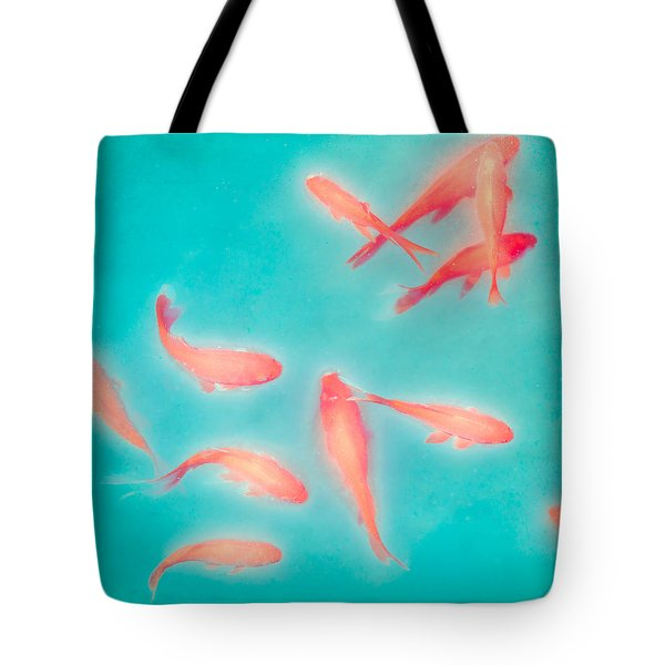 Goldfish - Glowing Fish - Gary Heller Tote Bag by Gary Heller