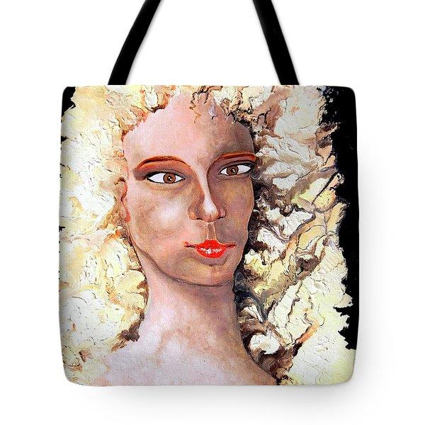 Goldilocks Tote Bag by Daniel Janda