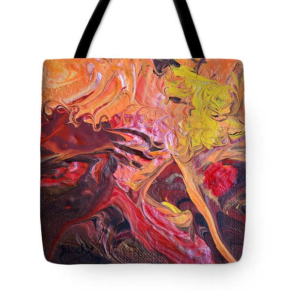 Goldilocks' Dementia Tote Bag by Donna Blackhall