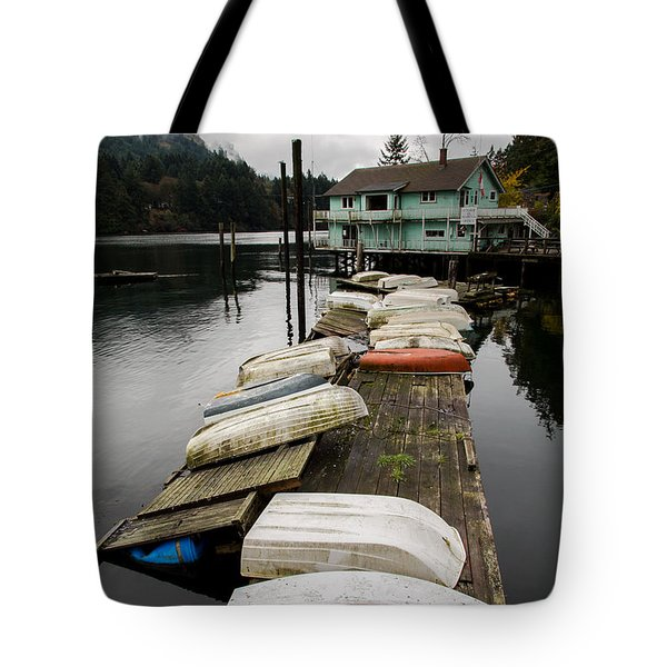 Goldstream Marina Tote Bag